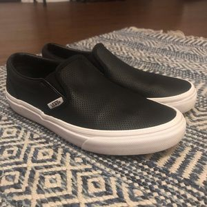 Leather Slip-Ons price FIRM
